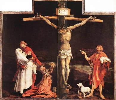 "Matthias Grünewald, ""Răstignirea"" (1515)"