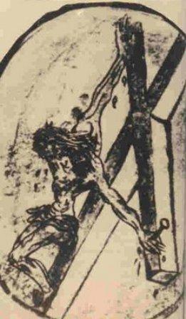 Desenul sfântului Ioan al Crucii (1474-1477)