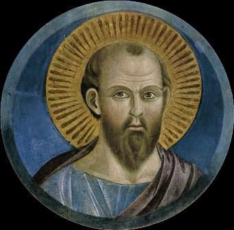 "Giotto, ""Sf. Paul"" (1290)"