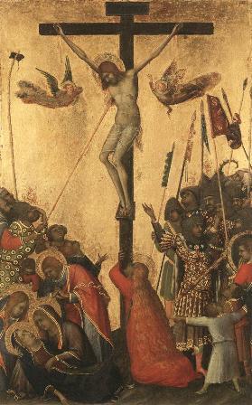"""Simone Martini, """"Răstignirea"""" (1333)"""