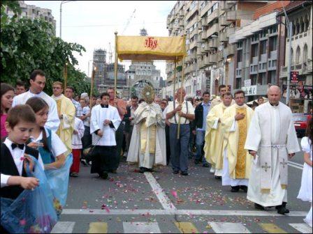 Procesiunea Corpus Christi, Bacău, 11 iunie 2009