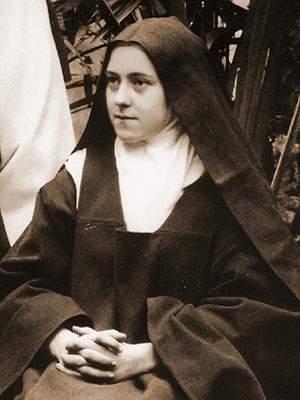 Sf. Tereza de Lisieux (fotografie din 1895)