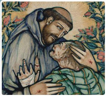 Sf. Francisc şi leprosul