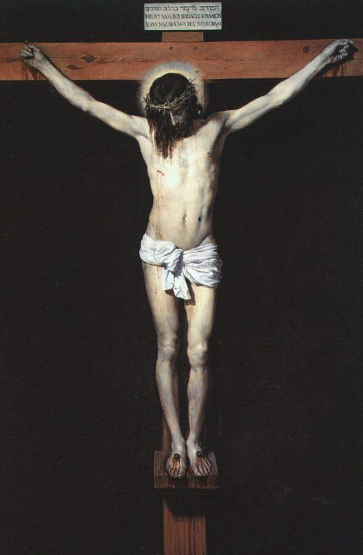 """Velasquez, """"Cristos pe cruce"""" (1632)"""